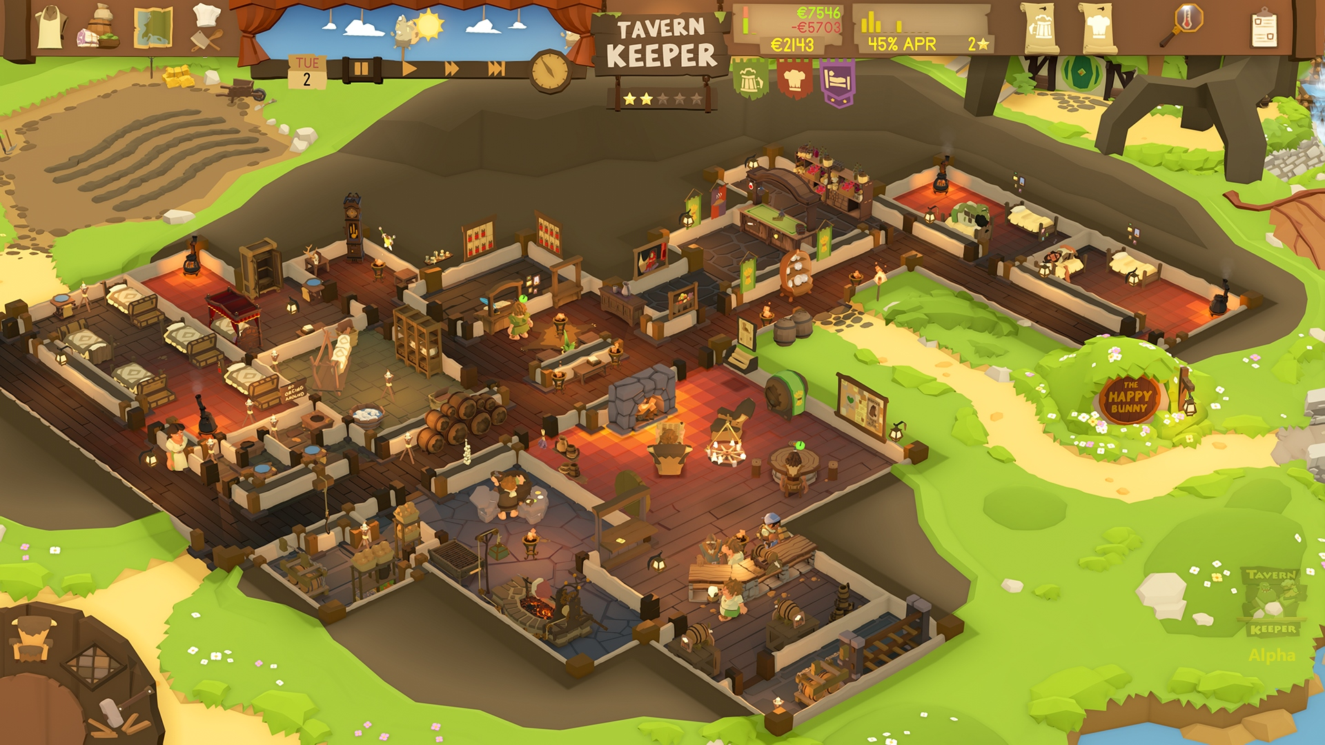 Tavern Keeper Alpha Screenshot 1
