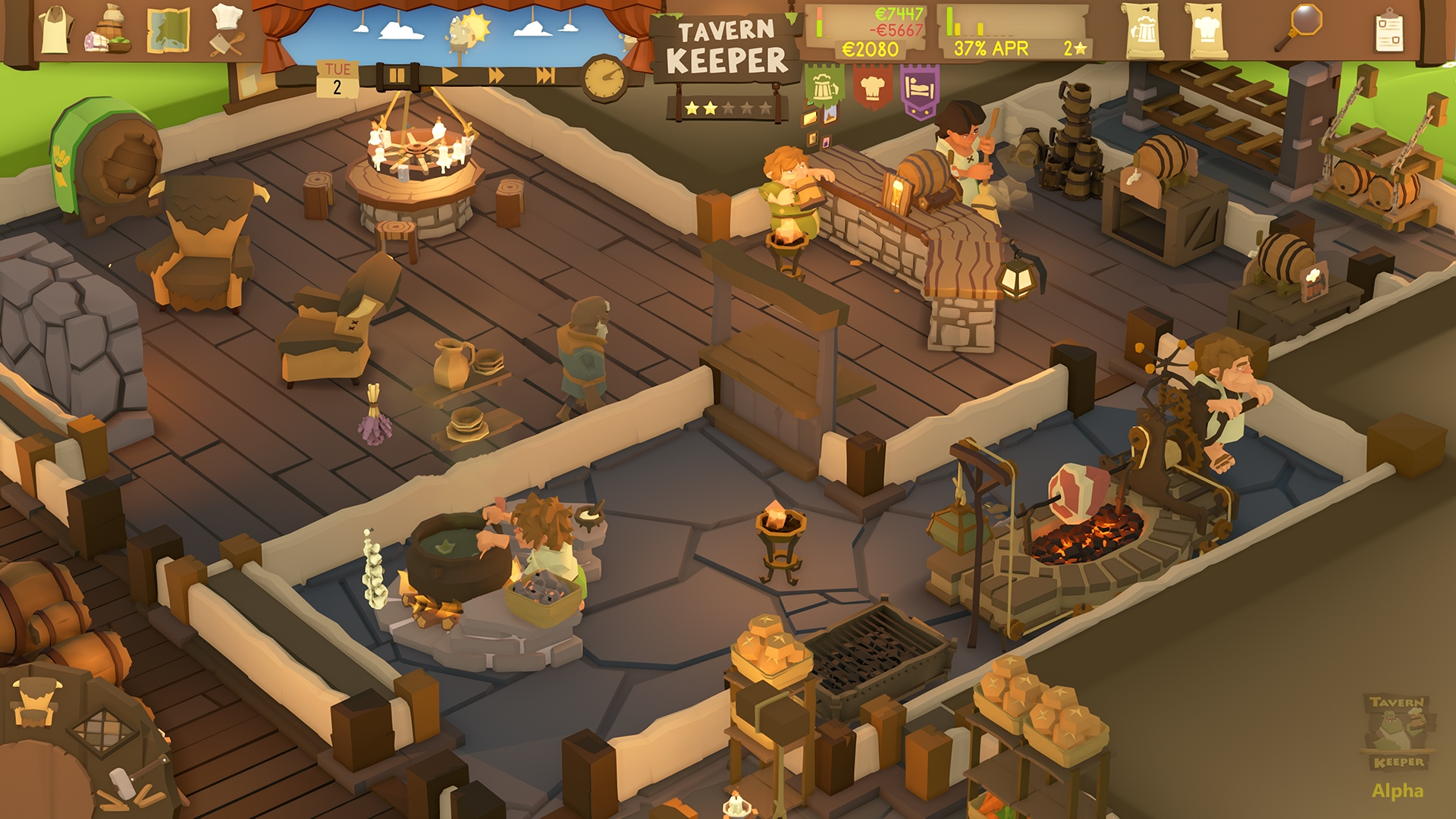 Tavern Keeper Alpha Screenshot 2