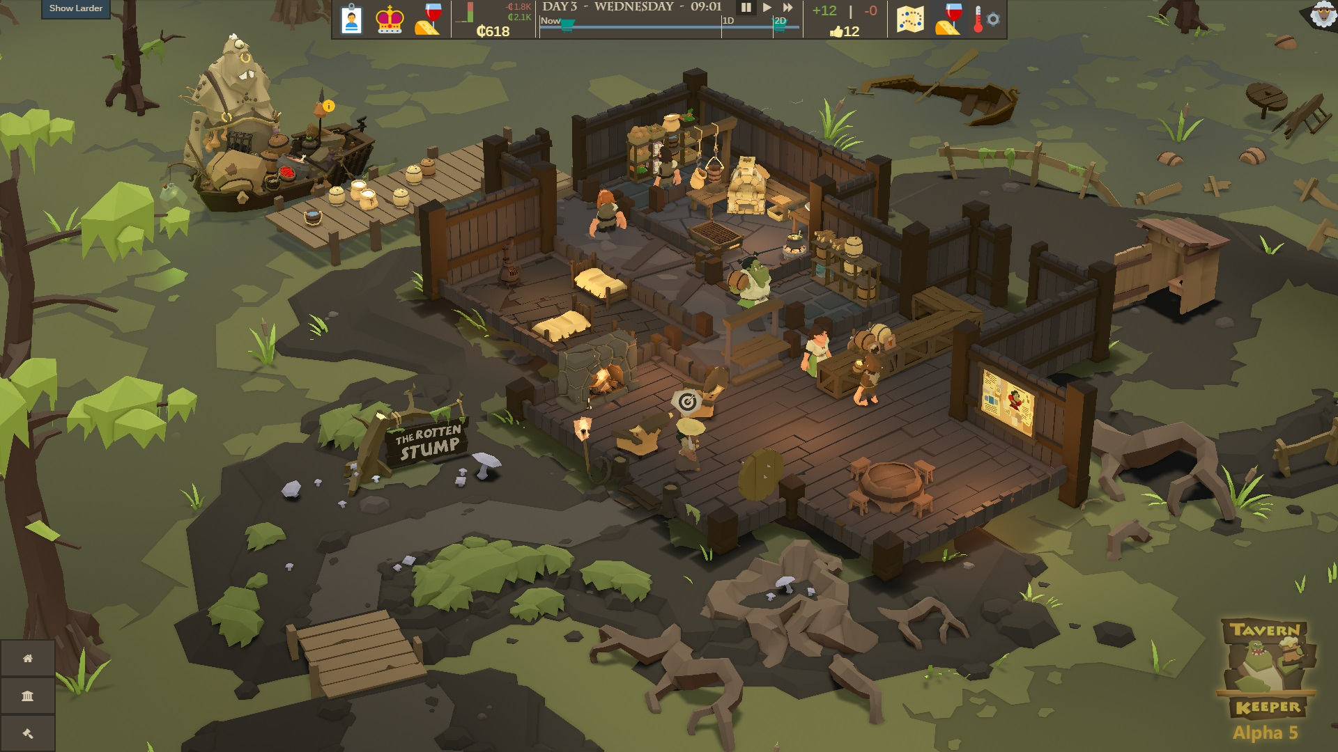Tavern Keeper Alpha Screenshot 4